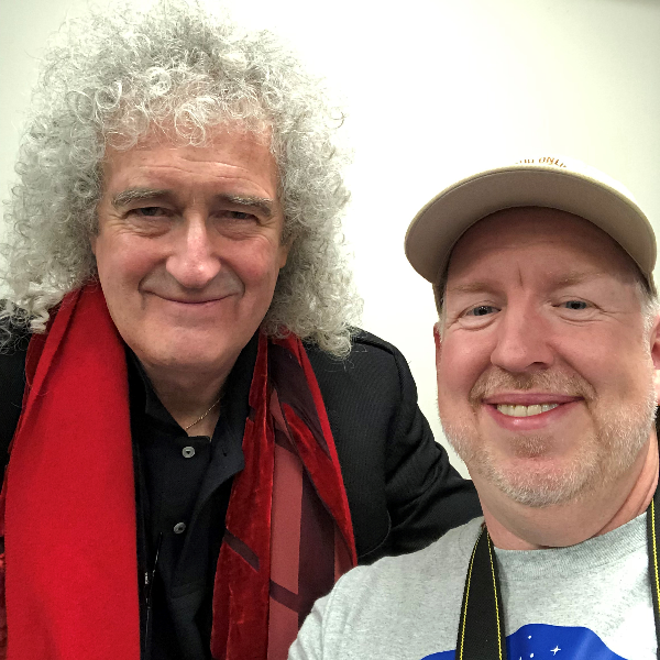 BRIAN MAY, Queen Lead Guitarist & Astrophysicist