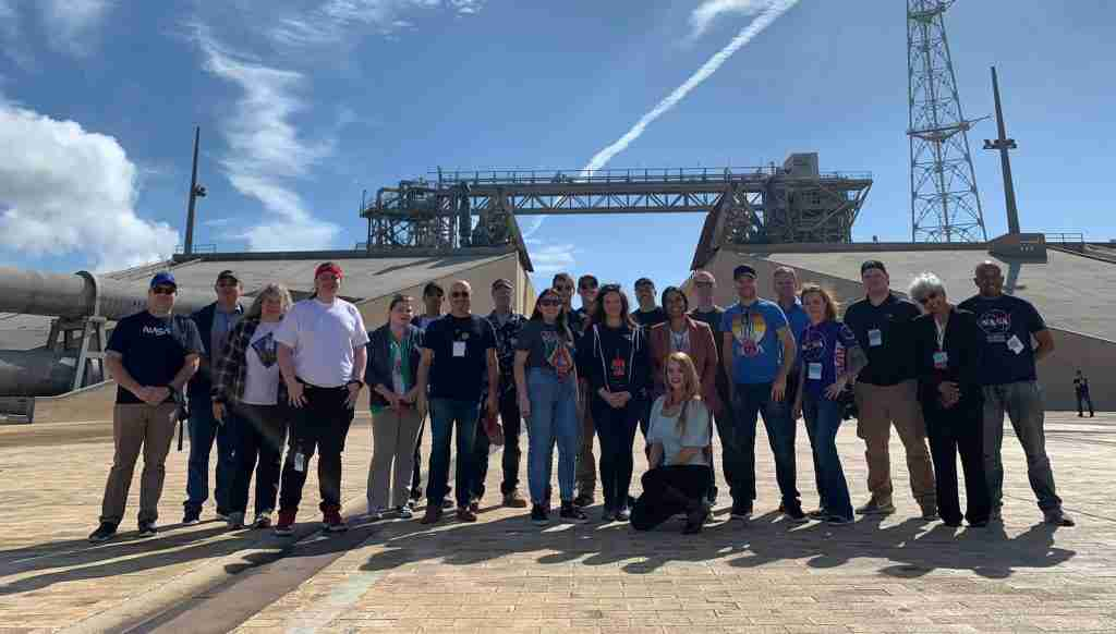 NASA Social Group at Kennedy Space Center February 10, 2020