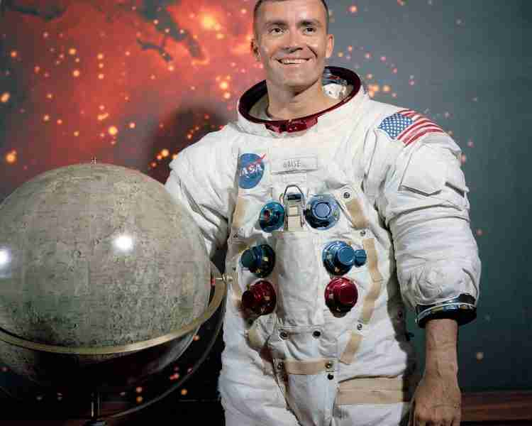 Apollo 13 astronaut Fred Haise