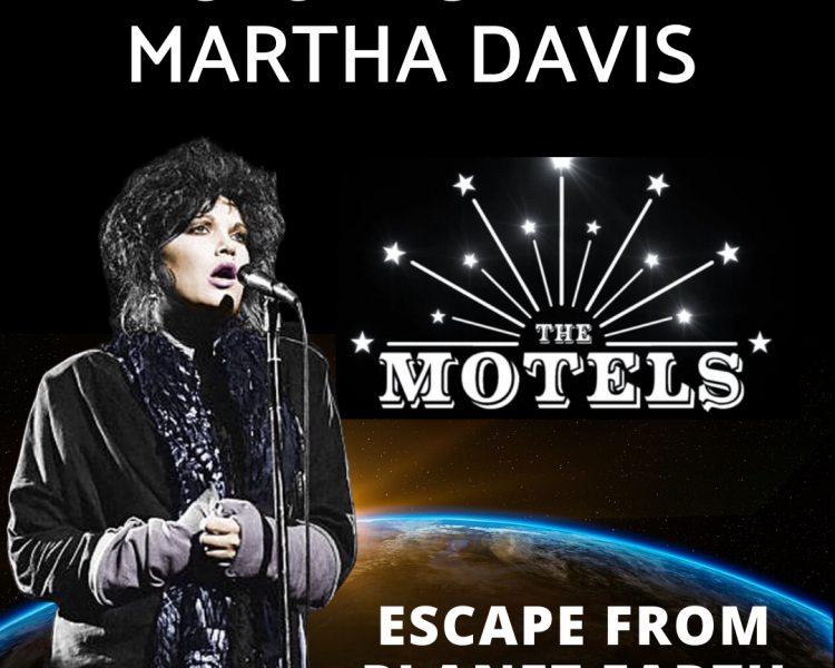 Martha Davis of The Motels